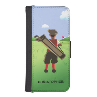 Fun Personalized Golfer on golf course