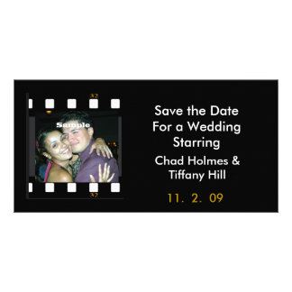 Fun Photo Film Save the Date Card Picture Card