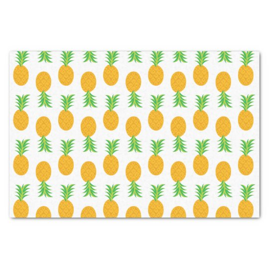 Fun Pineapple Pattern wrapping tissue Tissue Paper