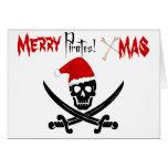 Fun Pirate Christmas Card