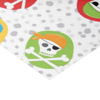 Fun Pirate skull pattern party tissue paper