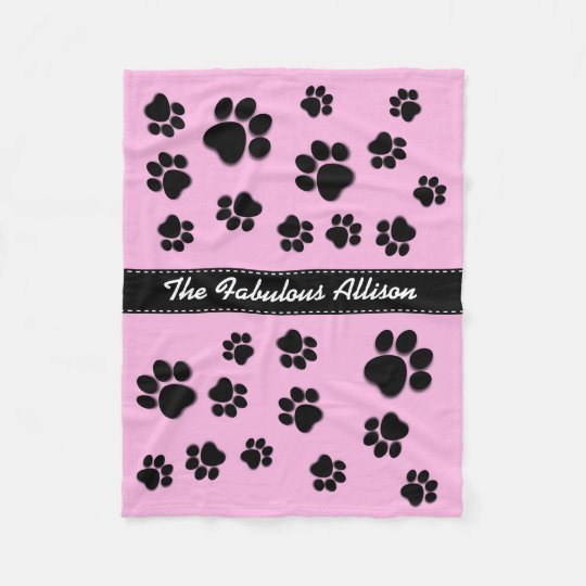 Fun Playful Paw Prints for Dog Lover A06A