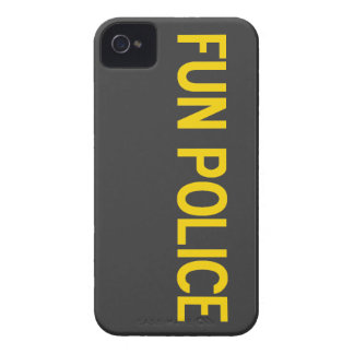 Fun Police Case-Mate iPhone 4 Barely There Case Case-Mate iPhone 4 Case