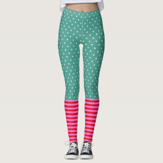 Fun Pop Culture Polka Dots Stripes Patterns Leggings
