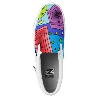 Fun Print Slip On Shoes