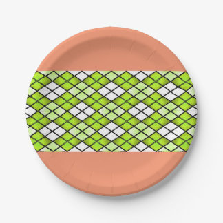 """""""Fun Prints"""" *Summer Party ! 7 Inch Paper Plate"""