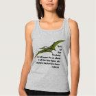 Fun Pterodactyl Dragon Dinosaur Tank Top
