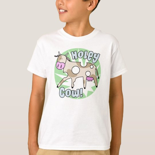 Fun Pun Holey Cow T Shirt