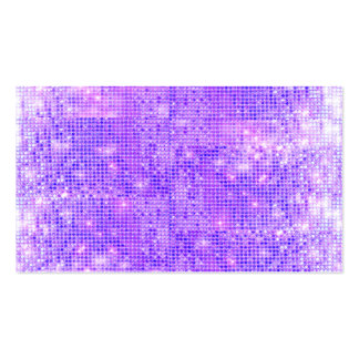 Fun Purple Faux Sparkly Sequins Pack Of Standard Business Cards