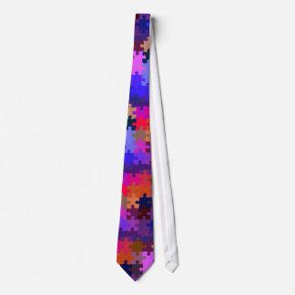 Fun Puzzle Neck Tie