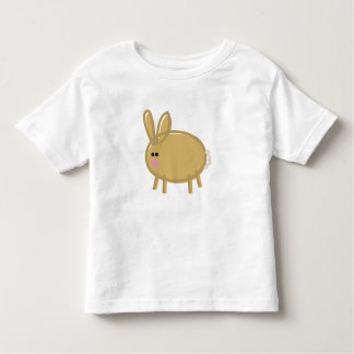 Fun Rabbit on White Shirts