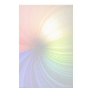Fun Rainbow Art Stationery Design