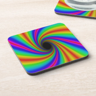 Fun Rainbow Coasters