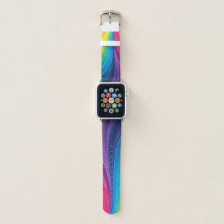 Fun Rainbow of Colors Apple Watch Band