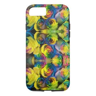 Fun Rainbow Roses Design iPhone 8/7 Case