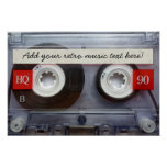 Fun Retro Cassette Tape