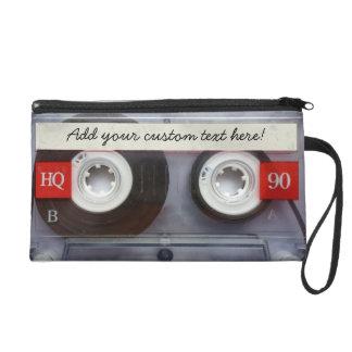 Fun Retro Cassette Tape Wristlet