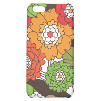 Fun retro floral pattern iphone case iPhone 5C covers