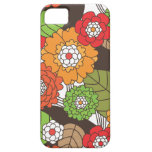 Fun retro floral pattern iphone case iPhone 5 covers