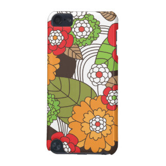 Fun retro floral pattern ipod case iPod touch (5th generation) cover