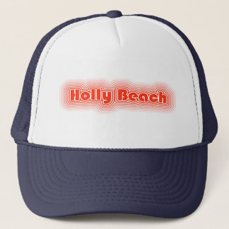 Fun Retro Holly Beach Louisiana Hat