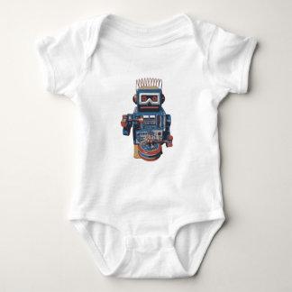 Fun Robot Drummer Baby Bodysuit