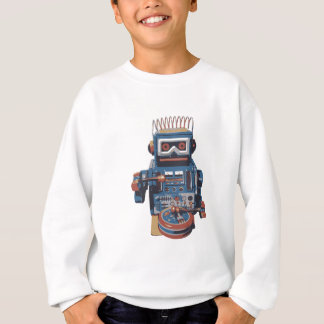 Fun Robot Drummer Sweatshirt