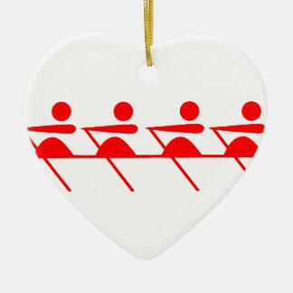 Fun Rowing club Christmas Ornament