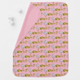 Fun Safari Baby Blanket