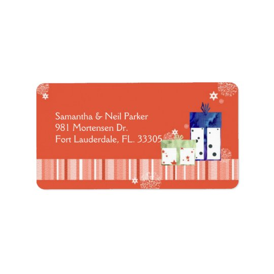 Fun, Sassy Christmas Gifts Holiday Address Labels