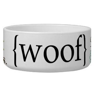 Fun Sayings Dog Pet Bowl food or water