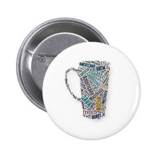 Fun Sayings Quote - Coffee, Java, … … 6 Cm Round Badge