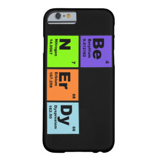 Fun Science iPhone 6 case Barely There iPhone 6 Case