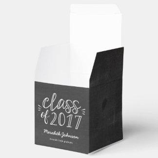 Fun Script Graduation Favor Box