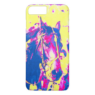 Fun Seattle Slew Thoroughbred Racehorse Watercolor iPhone 7 Plus Case
