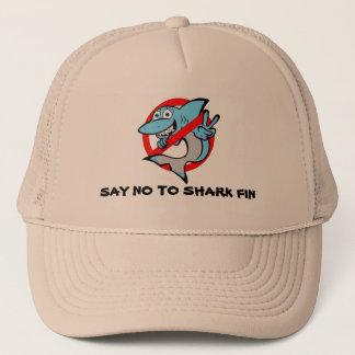 Fun shark design hat. Say no to shark fin! Cap