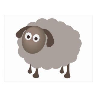 Fun Sheep Design Postcard