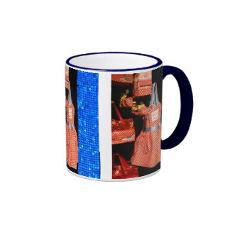 Fun Shopping at Harrods Ringer Coffee Mug