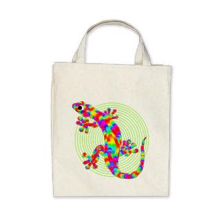 Fun Sidney Salamander Grocery Tote Bag