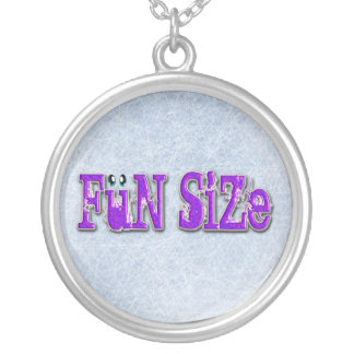 FUN SIZED ROUND PENDANT NECKLACE