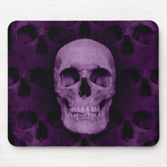 Fun skull decor mouse mat