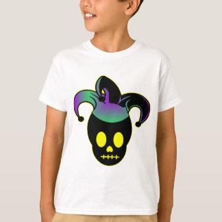 Fun Skull Jester Tattoo T-Shirt