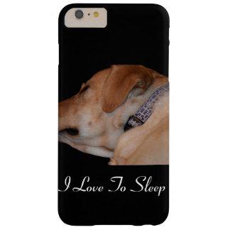 Fun Sleeping Labrador Retriever Barely There iPhone 6 Plus Case
