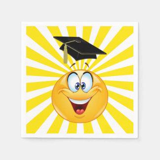 FUN Smile Happy Face Graduation Napkin - SRF Paper Napkin