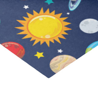 Fun space theme planet pattern party tissue tissue paper