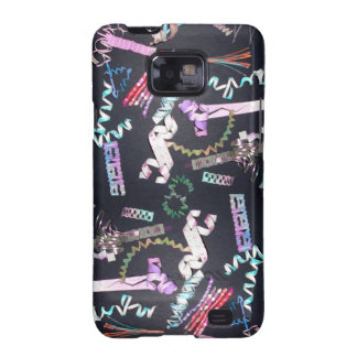 Fun Spirals - SquirlyQs Samsung Android Case 2 Galaxy SII Cover