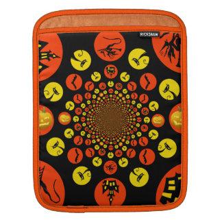 Fun Spooky Halloween Kaleidoscope Pattern Sleeves For iPads