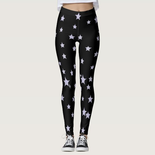 Fun Starry Design Leggings