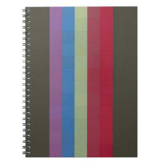 Fun Stripe Notebook