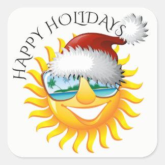 Fun Sun Holiday Sticker #holidayZ